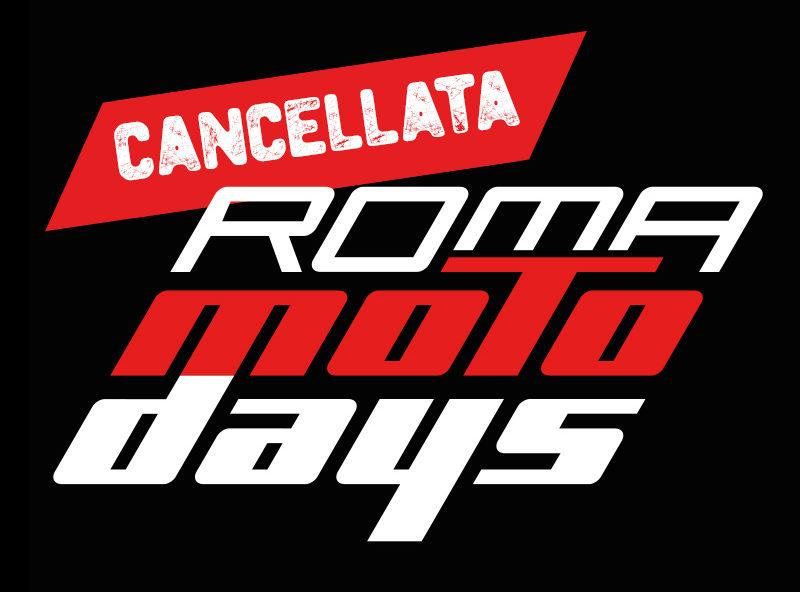 Cancellata la 12° edizione Roma Motodays