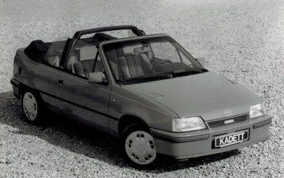 "Le Opel Astra e Kadett ""by Bertone"""