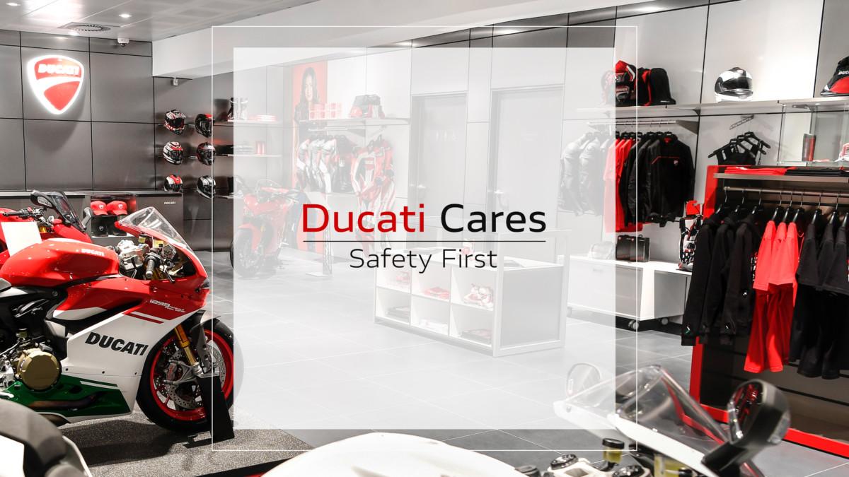 """""""Ducati Cares"""" rimette in moto le emozioni"""