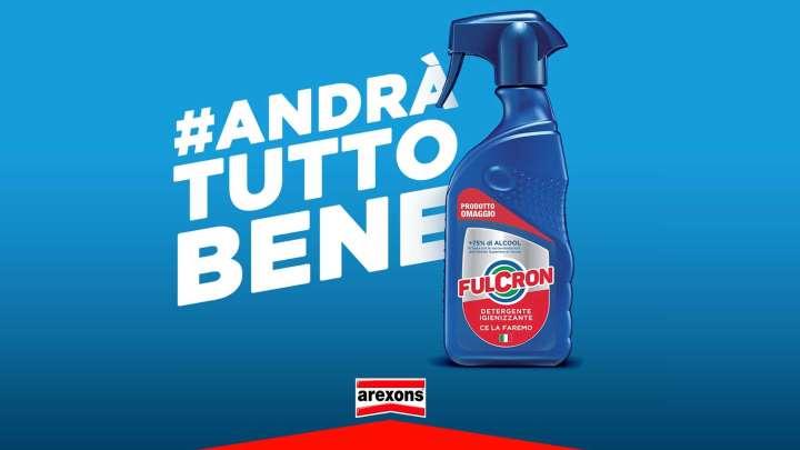 Da Arexons 20.000 confezioni di detergenti igienizzanti agli ospedali lombardi