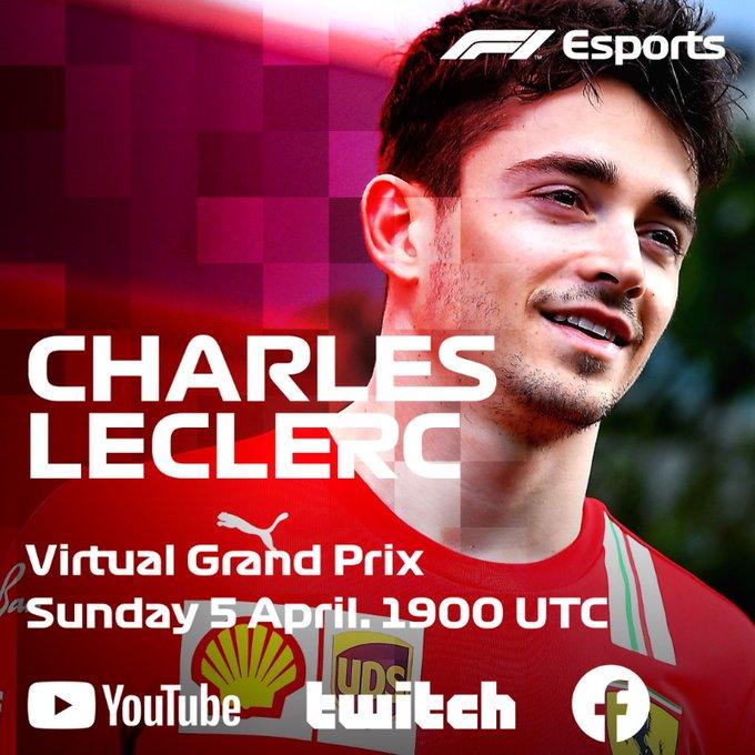 Cinque piloti di F1 questo weekend nell'F1 Esports Virtual Grand Prix
