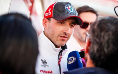 Kubica tra voglia di tornare alla F1 e le preoccupazioni per il coronavirus