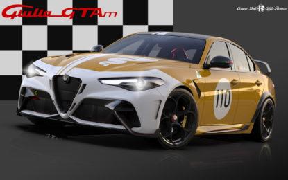 Il Centro Stile Alfa Romeo firma livree su misura per la Giulia GTA