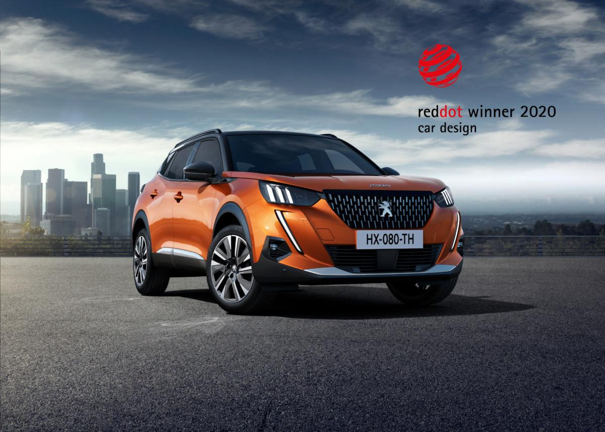 Design Award alle nuove Peugeot 208 e SUV 2008