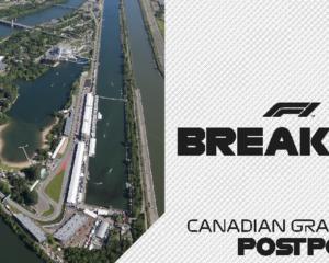 Posticipato il GP del Canada