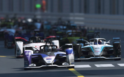 Guenther domina la test race ABB Formula E Race at Home Challenge