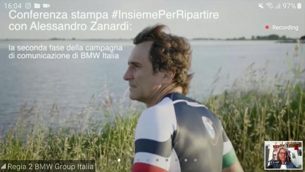 Da BMW Italia e Alex Zanardi un nuovo video #InsiemePerRipartire