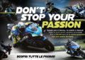 "Suzuki lancia ""Don't Stop Your Passion"""