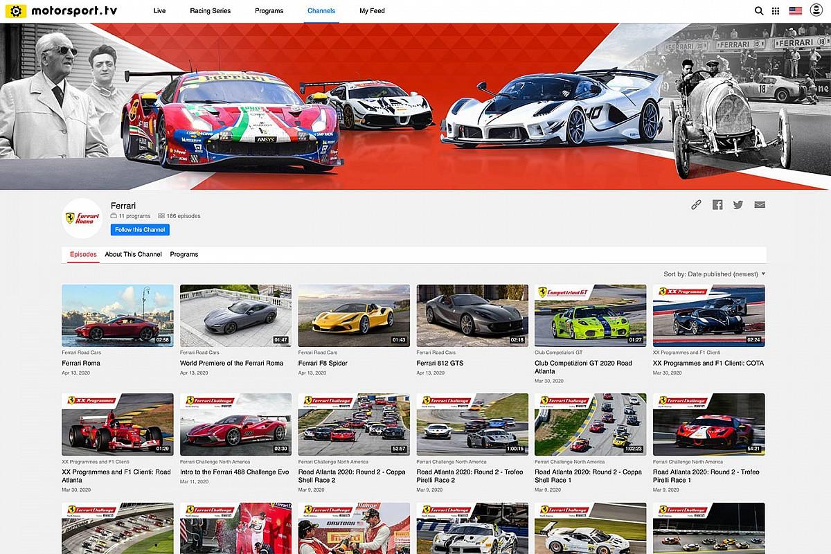 Partnership Ferrari-Motorsport Network per un canale ufficiale su Motorsport.tv