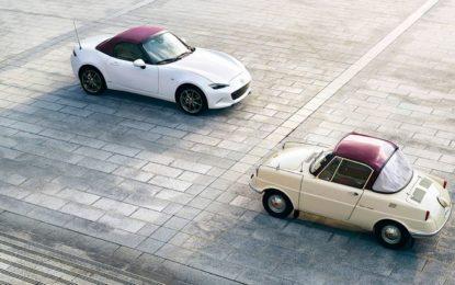 Edizione speciale in tutta la gamma per i 100 anni Mazda