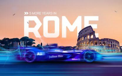 La Formula E correrà a Roma almeno fino al 2025