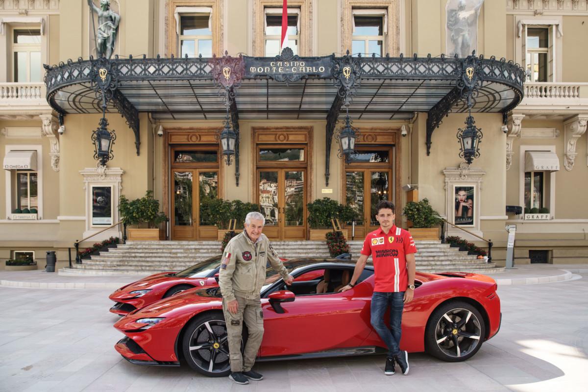 Ciak, si gira! A Monaco Leclerc e la Ferrari diretti da Lelouch