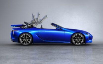 Lexus LC Convertible: la capote perfetta