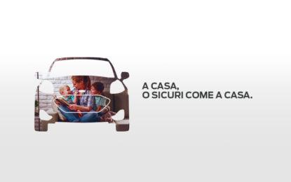 La strategia Ford Italia dedicata alla ripartenza: a casa o sicuri come a casa