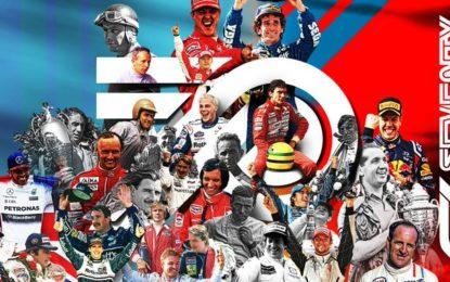 Buon compleanno, Formula 1! E via per i prossimi 70!