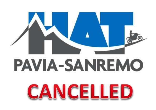 Cancellata la 3^ edizione della HAT Pavia-Sanremo