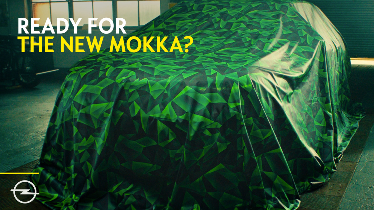 Primo sguardo al nuovo Opel Mokka