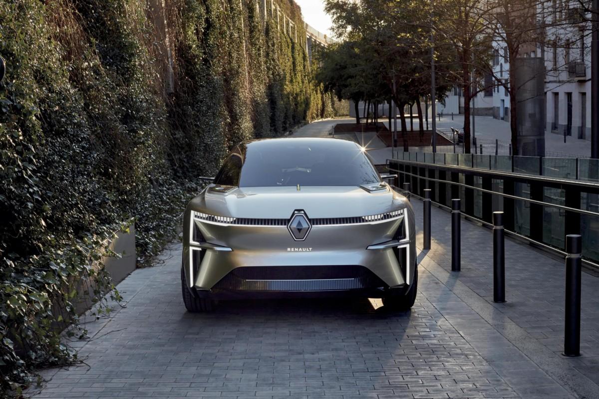 MORPHOZ: la concept car elettrica di Renault