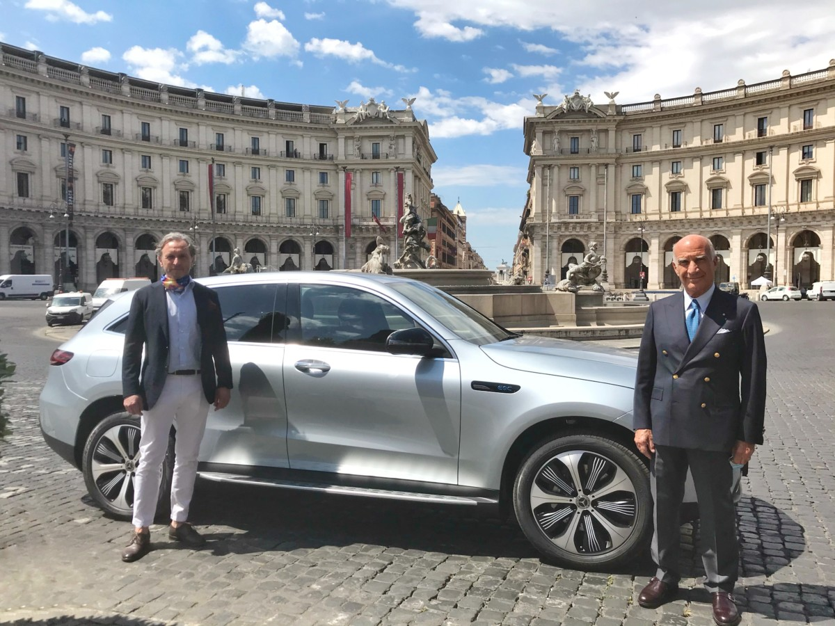 Il presidente ACI e Mercedes per il futuro della mobilità