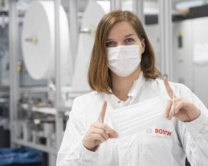 Coronavirus: Bosch avvia produzione di mascherine protettive, anche a Bari