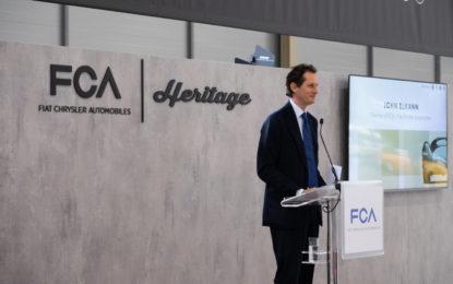 """Elkann: """"La fusione FCA e PSA prosegue secondo i piani"""""""