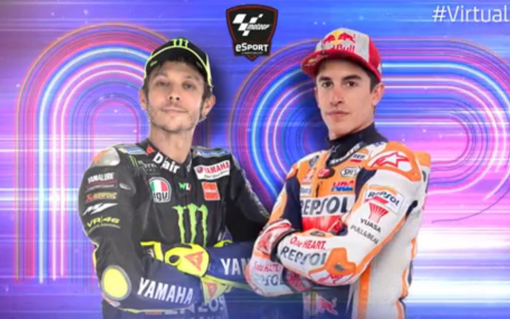 MotoGP e MotoE domenica a Misano per la Virtual Race 4