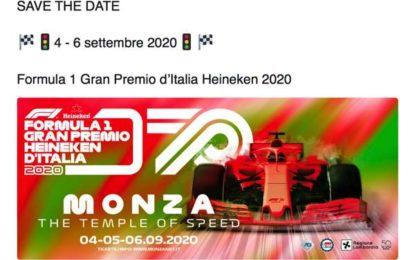 Stupefacente! Il GP d'Italia annunciato sparisce dai social. Ma biglietti in vendita