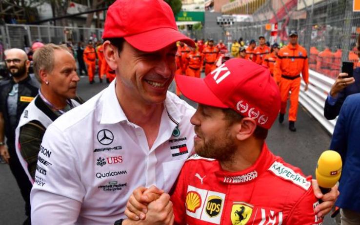 Wolff e Mercedes fanno più di un pensierino su Vettel