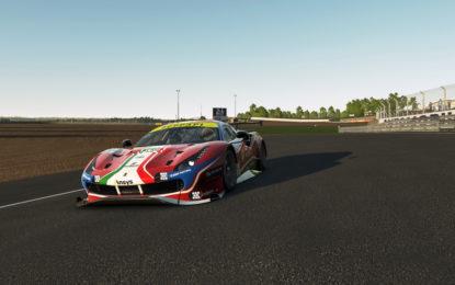 Virtual 24 Hours of Le Mans: Ferrari a centro gruppo dopo la qualifica