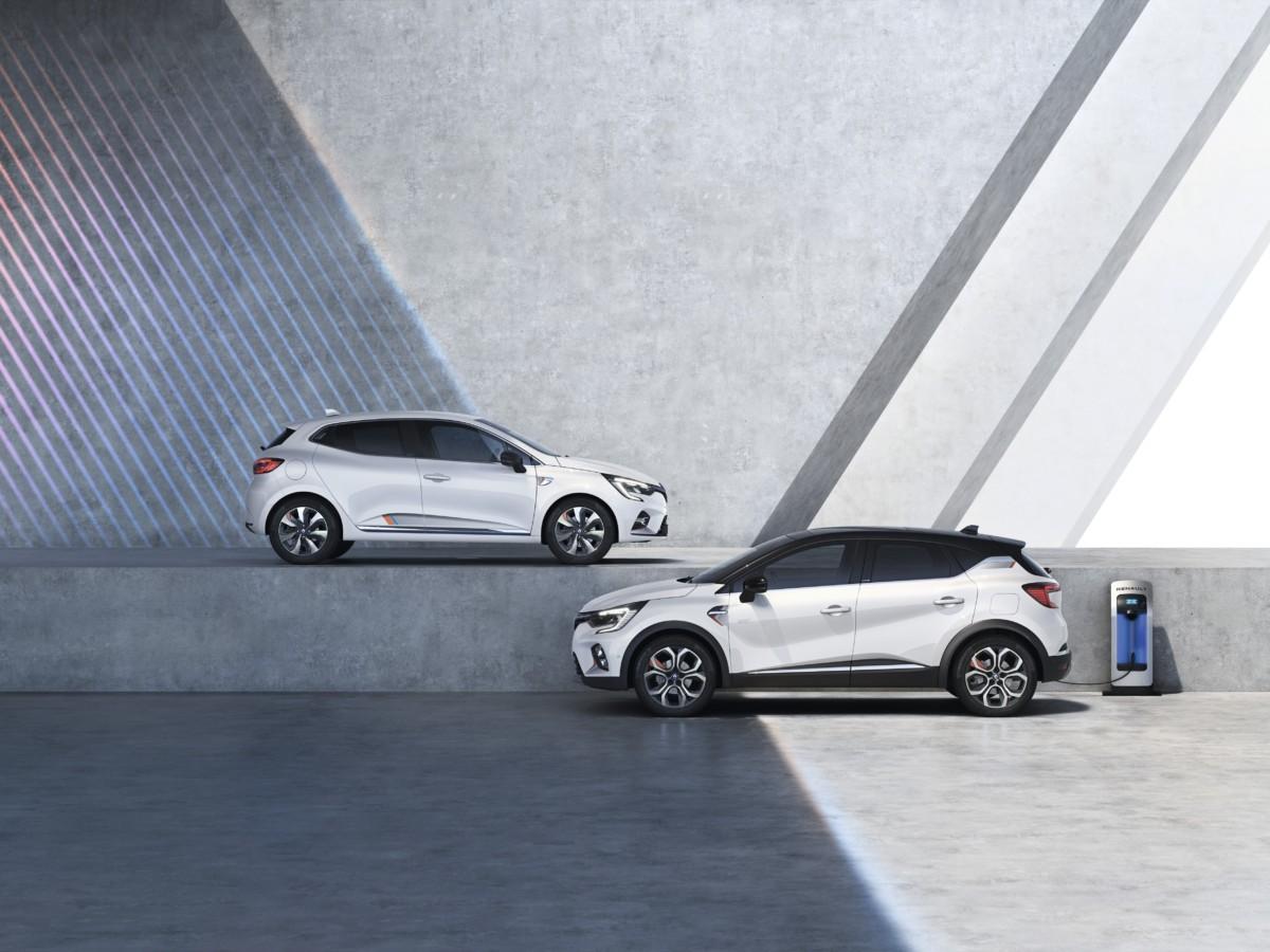 Renault Clio E-TECH Hybrid e Captur E-TECH Plug-in Hybrid