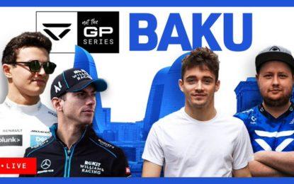 Su Sky e YouTube in scena il GP dell'Azerbaijan. Virtuale