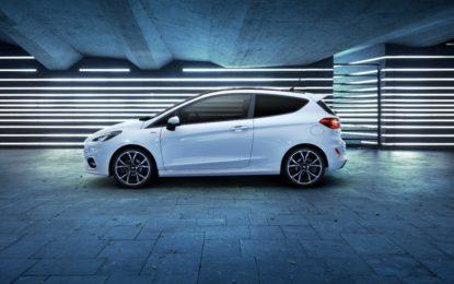Ford Fiesta elettrificata e tecnologica