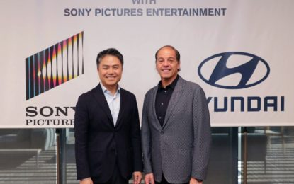 Partnership tra Hyundai Motor e Sony Pictures Entertainment