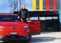 Una Hyundai Kona Electric per Bertrand Piccard