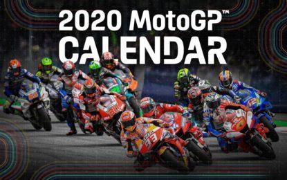 MotoGP: il nuovo calendario 2020. Si parte il 19 luglio a Jerez