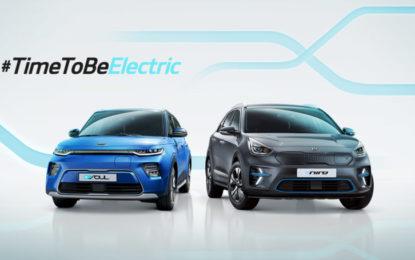 #TimeToBeElectric: la gamma elettrica e ibrida Kia in diretta