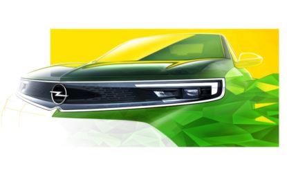 Mokka mostra Vizor, il nuovo volto di Opel