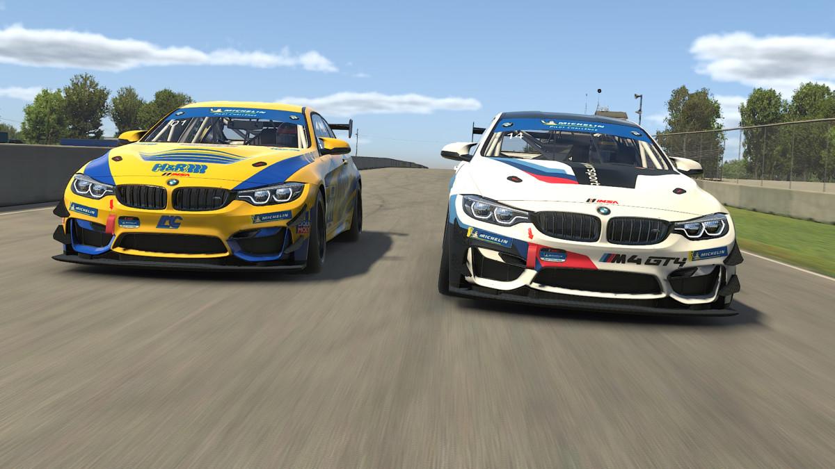 Come è nata la versione virtuale della BMW M4 GT4