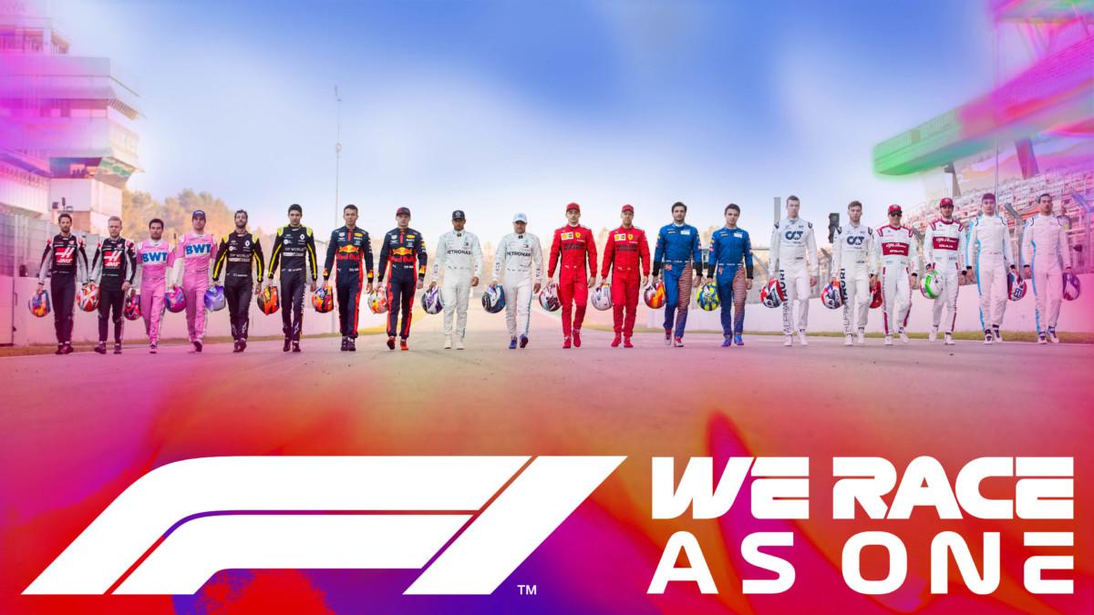 Formula 1 lancia #WeRaceAsOne