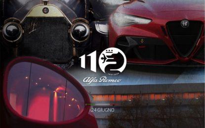 110 anni di Alfa Romeo: appuntamento live alle 15,30