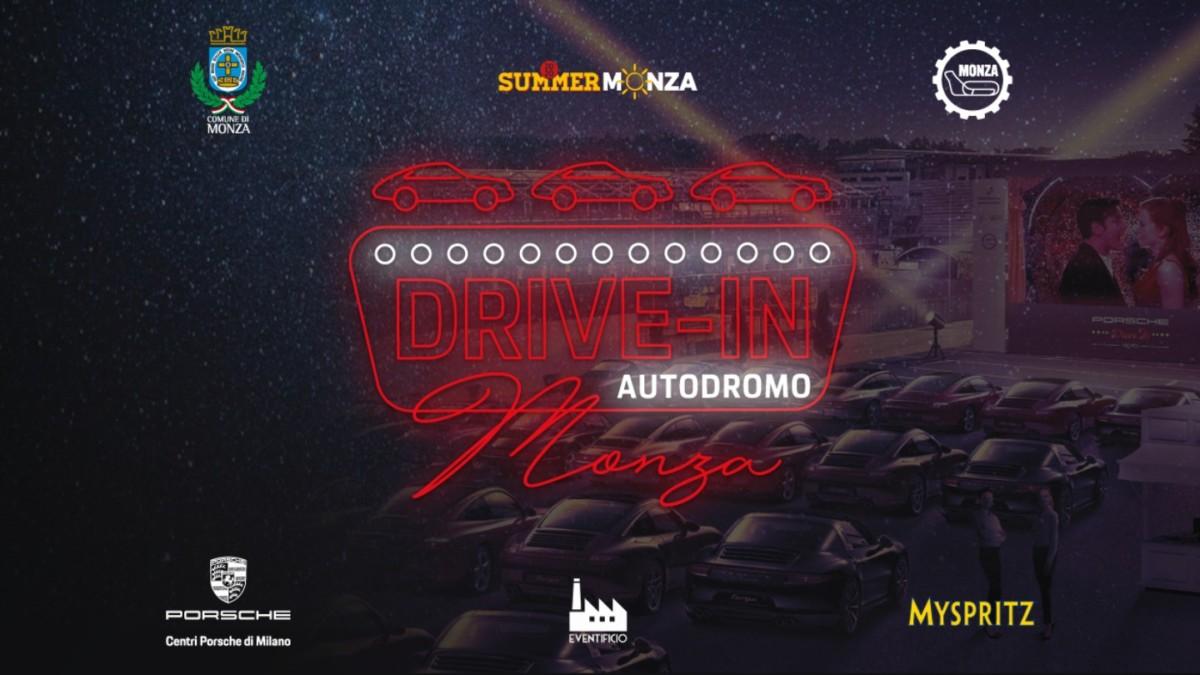 A luglio l'Autodromo di Monza si trasforma in un drive-in