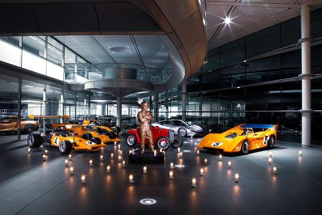 La McLaren celebra Bruce McLaren a 50 anni dalla scomparsa