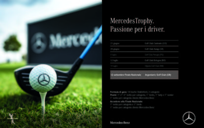 MercedesTrophy 2020: sul green con She's Mercedes