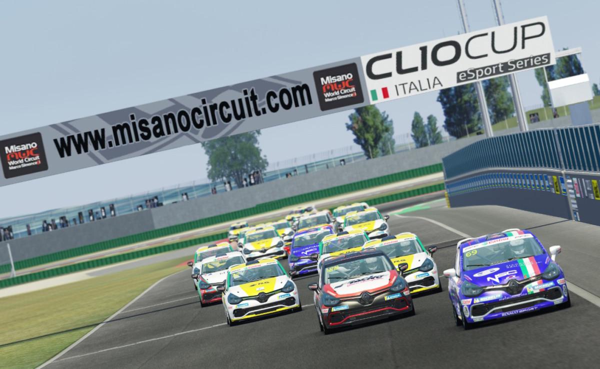 Clio Cup Italia eSport Series: il punto dopo Misano