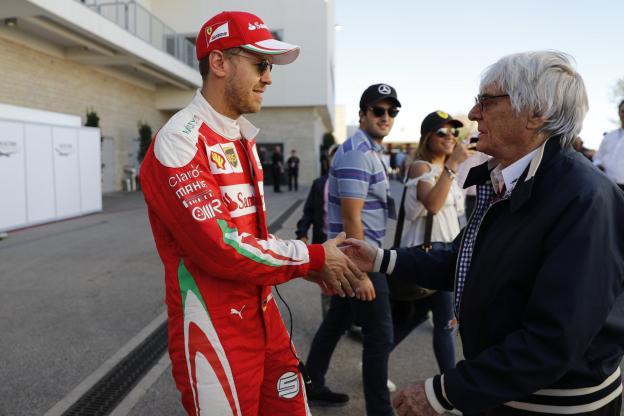 """Ecclestone spera che la Ferrari """"giochi pulito"""" con Vettel"""