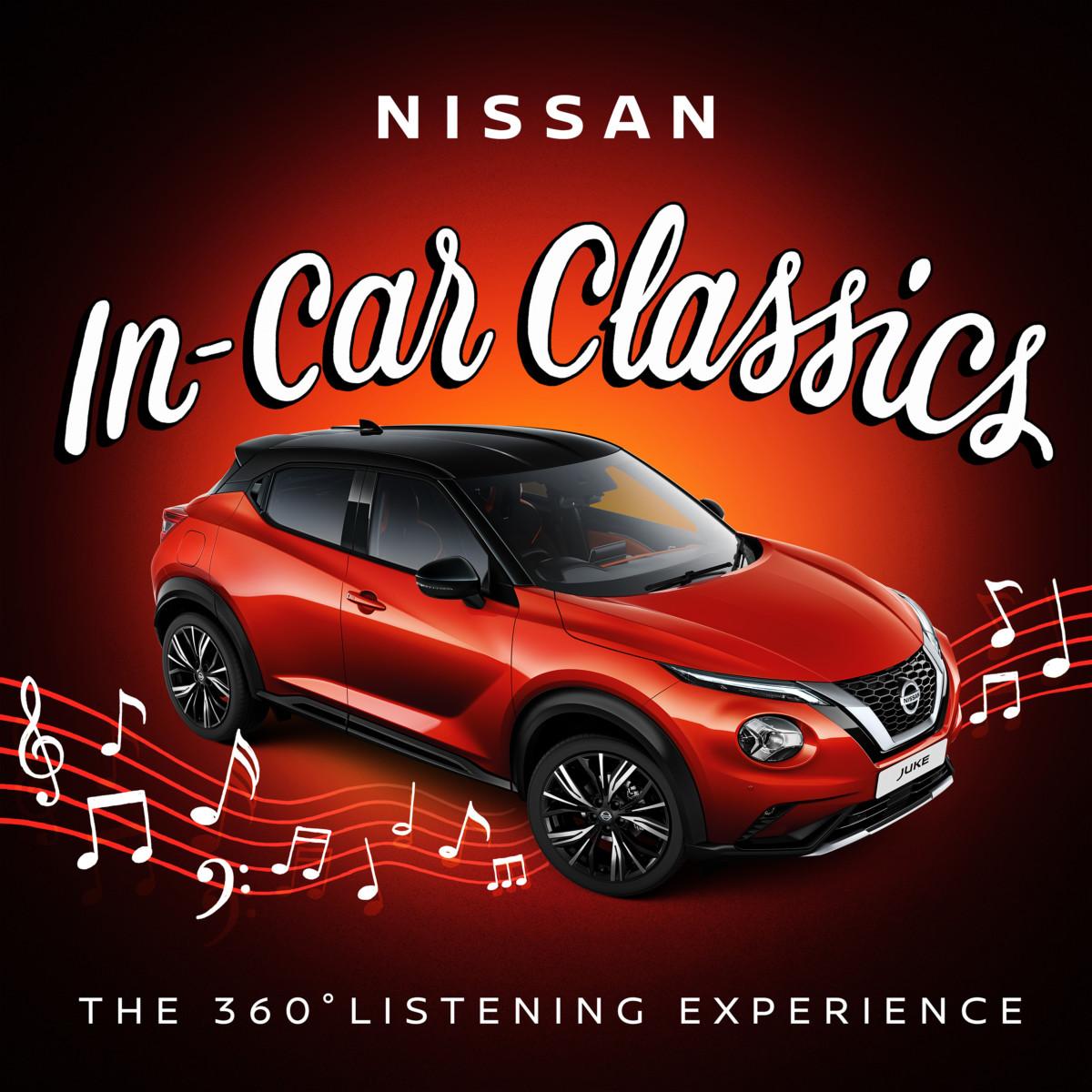 Nissan In-Car Classics playlist: solo per JUKE