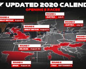 La F1 conferma le prime 8 gare del calendario 2020