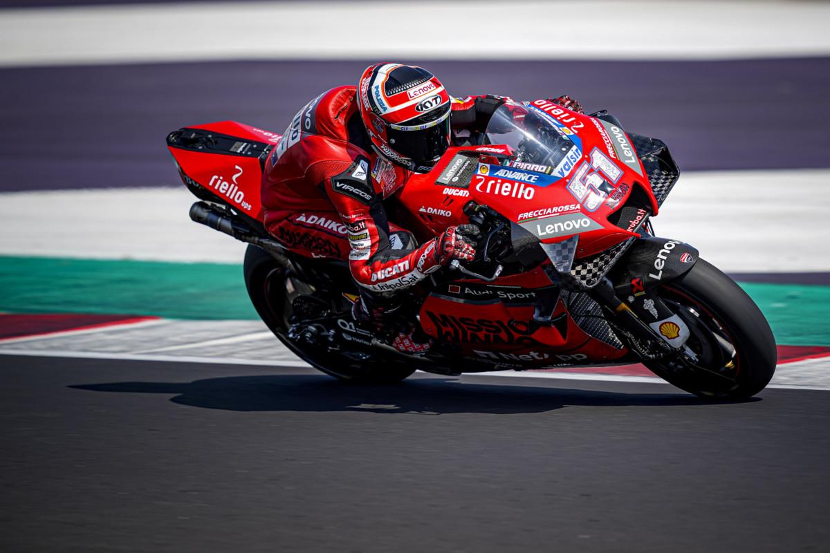 Ducati Test Team e Michele Pirro finalmente in pista