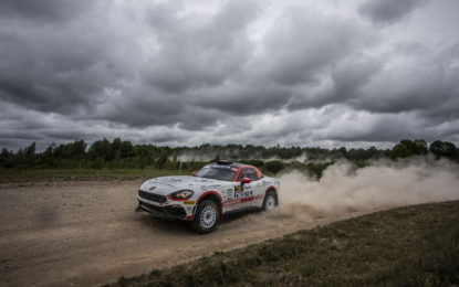 Nuovo calendario per l'Abarth Rally Cup 2020
