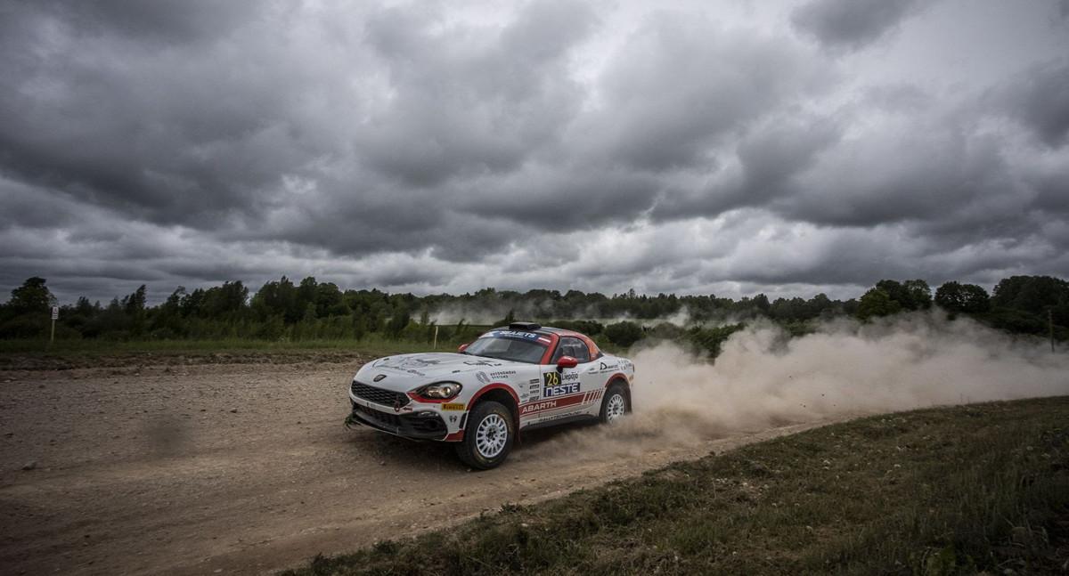 Nuovo calendario per l'Abarth Rally Cup 2020